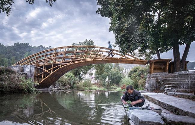 悬岸飞桥,安徽 / 来建筑设计工作室