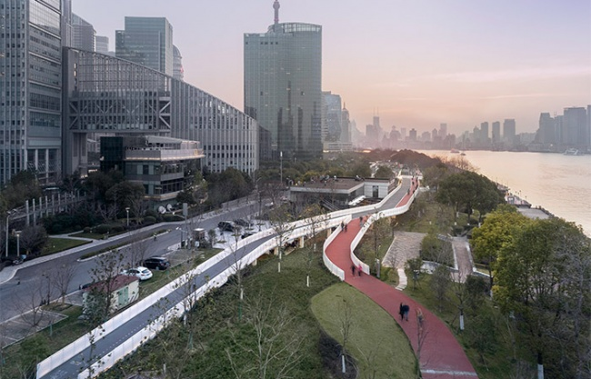 匯之橋 – 上海泰同棧慢行橋 / 山水秀建筑事務所