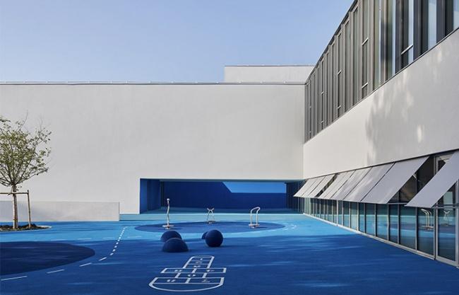 René Beauverie学校和综合设施, 法国 / Dominique Coulon & associés