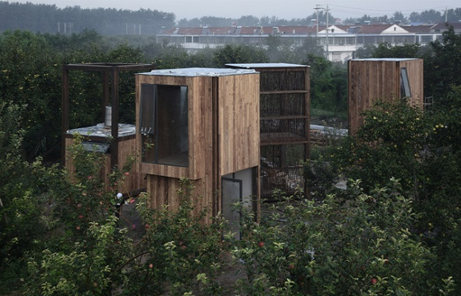 The Tinest Cottage, China by Beijing Jiaotong University + University of Cincinnati