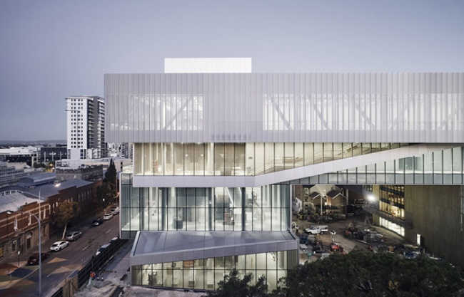 西澳大利亚新博物馆,珀斯 / Hassell + OMA