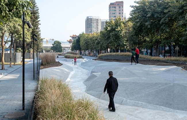 The Site Design of Bao-an Sub-Venue, 2019 Bi-City Biennale of Urbanism\Architecture, China by NODE Architecture & Urbanism