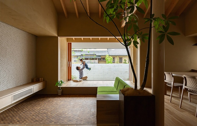 Hikone住宅,日本滋贺 / HEARTH ARCHITECTS
