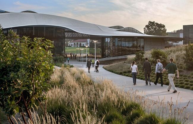 加州州立理工大学波莫纳分校学生服务大楼,美国 / CO Architects