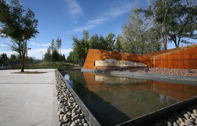 新疆博乐人民公园改造设计(C、D、F地块)/ 北京源树景观规划设计事务所