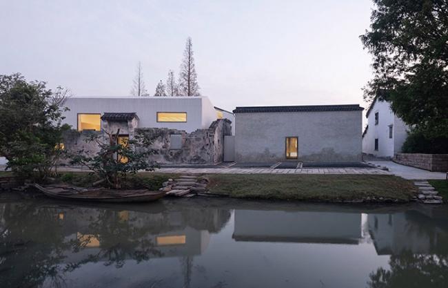 章堰文化馆,上海 / 水平线设计