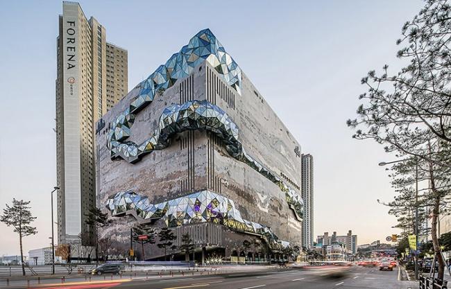 Galleria百货公司大楼,韩国 / OMA