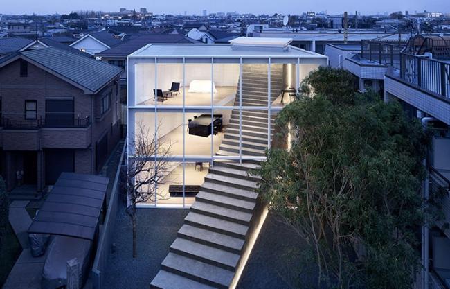 楼梯住宅,东京 / nendo