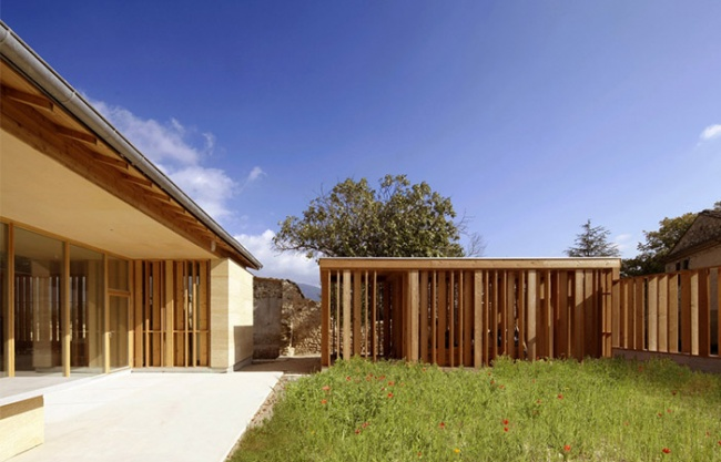 石头住宅,法国 / Carl Fredrik Svenstedt Architect