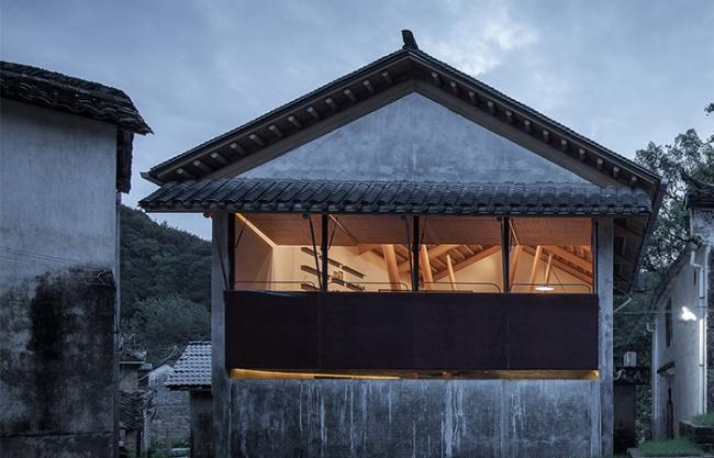仃屋:南咖啡祁门桃源村店,安徽 / 来建筑设计工作室