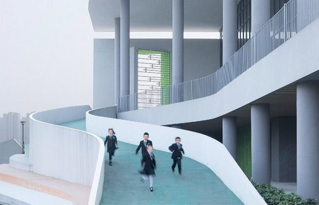 宁波杭州湾滨海小学 / 浙江大学建筑设计研究院有限公司