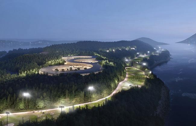 Gyeongdo岛度假区总体规划,韩国 / UNStudio