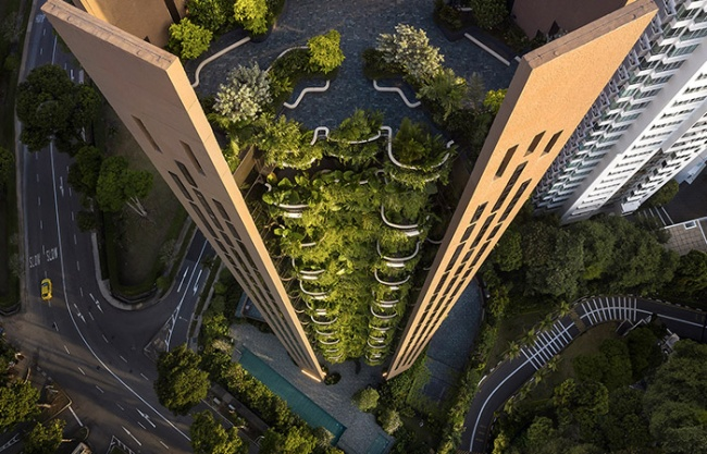 EDEN公寓楼,新加坡 / Heatherwick Studio