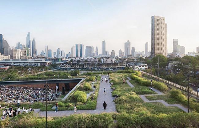 2019 ASLA GENERAL DESIGN AWARD OF HONOR: Chulalongkorn University Centenary Park by LANDPROCESS