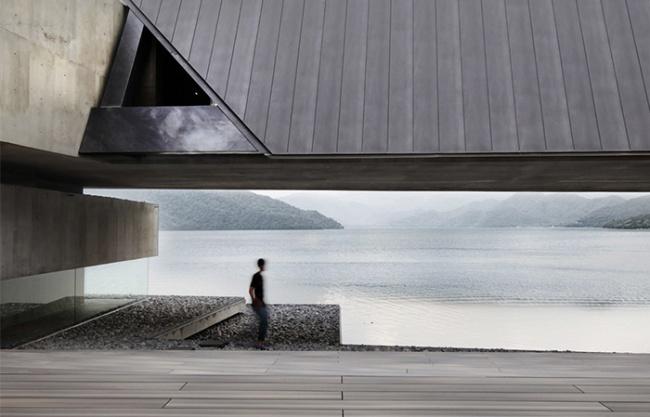 On the water by Nikken Sekkei Ltd