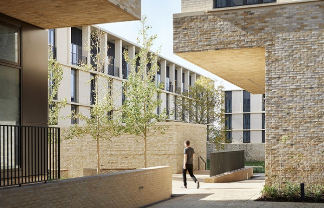 剑桥艾丁顿社区,英国 / Stanton Williams
