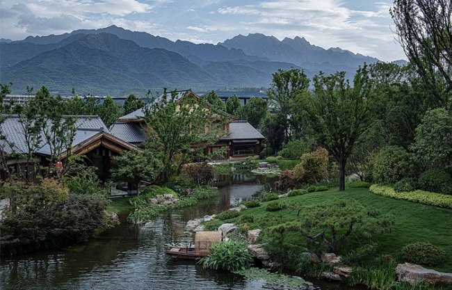 Mountain Taibai · Tang Town — Eastern Xanadu, China by SecondNature
