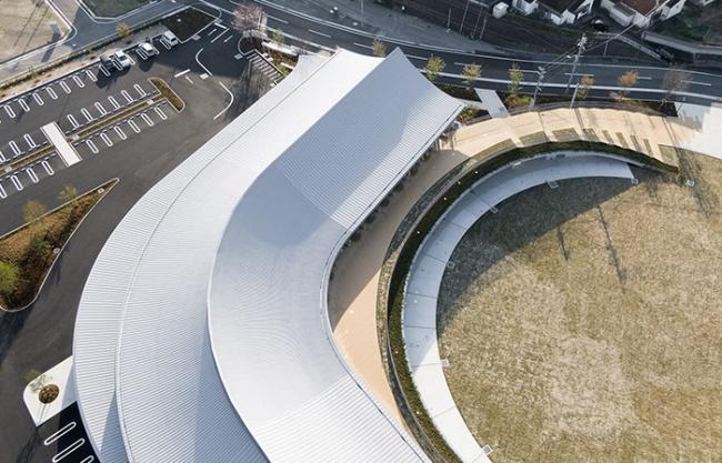 天草市综合设施KOKORASU,日本 / 株式会社日建设计