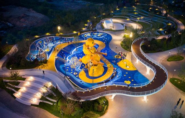 Qingdao Vanke City Time Park by ZAP