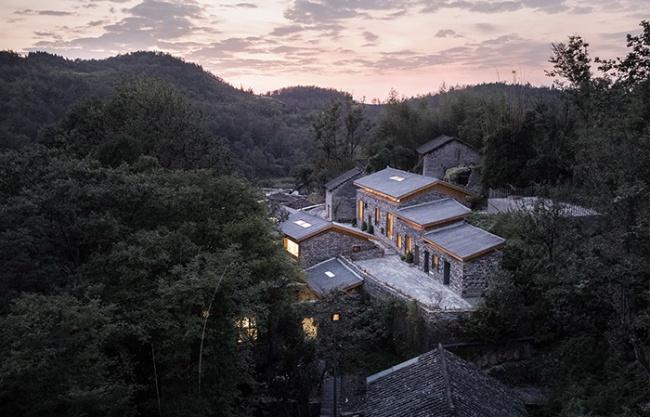 Bona Villa Lahao Stone Houses, China by UPA