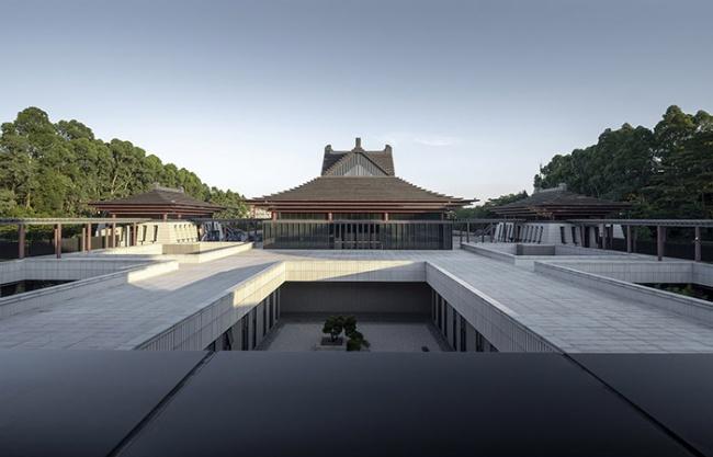 Southern Han Mausoleums Museum, China by JANSON XIAN ARCHITECT + ASSOCIATES(XAA)