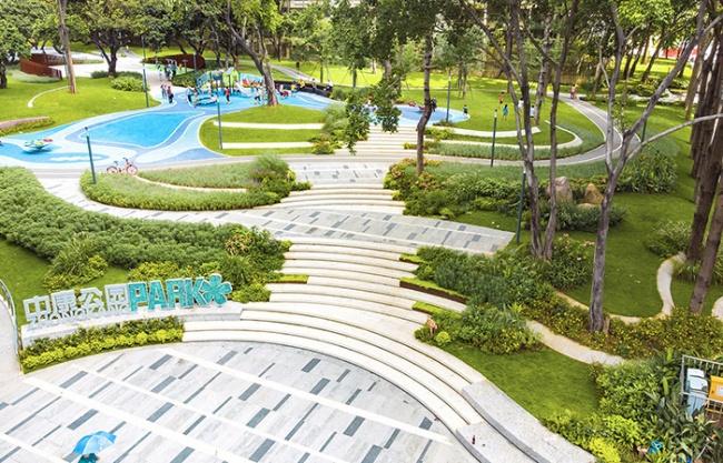 Zhongkang Community Regeneration Ideal Park, Shenzhen, China by WENKE