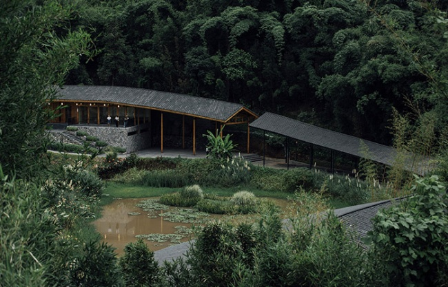 Bamboo Branch Academy, China by Archermit