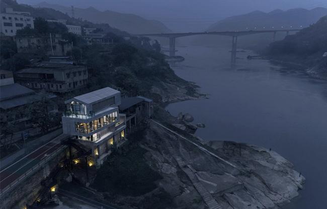 Sansheng Ferry Service Station, China by Yueji Design