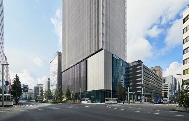 The Museum Tower Kyobashi by Nikken Sekkei Ltd