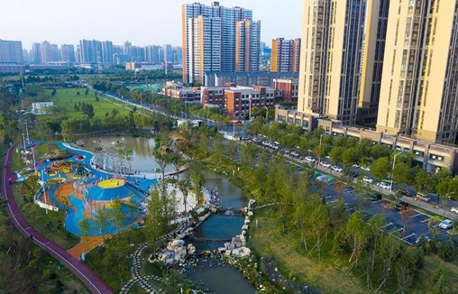 皂河滨水廊道规划,西安 / 中国电建集团西北勘测设计研究院有限公司