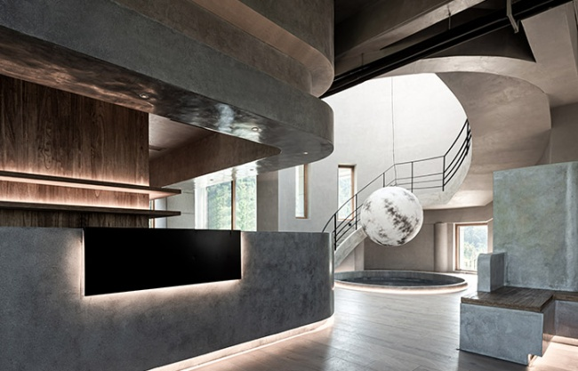 Hutou Mountain Cafe, Wenzhou, China by Slow Coral Design