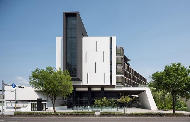 Biosphere – 现代生态办公楼,台湾 / 橙田建筑