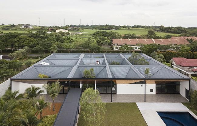 回廊之家,马来西亚 / Formwerkz Architects