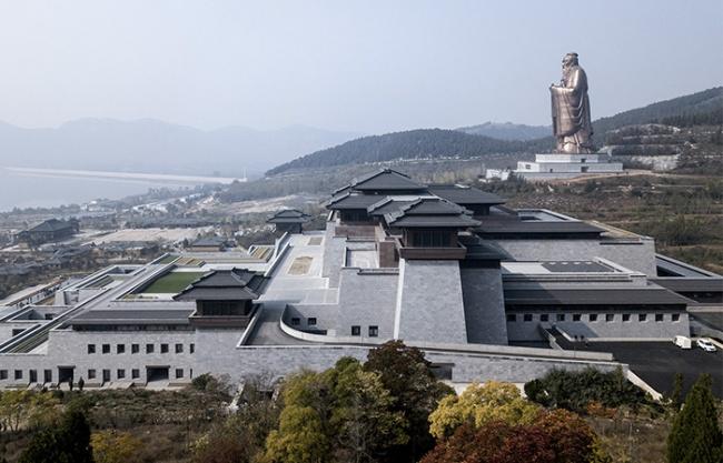 Nishan Sacredland Great Learning Hall, China by OI Architects