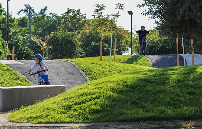 宾亚米纳体育公园,立色列 / BO Landscape Architecture