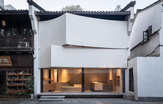 CHA talk Tea House, China by AIR Architects