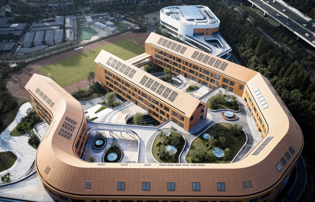 杭州市奥体实验小学及幼儿园 / 浙江大学建筑设计研究院有限公司