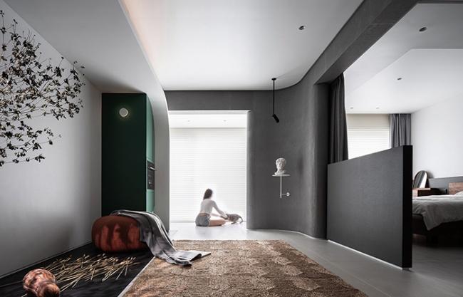 """两室一厅的""""美术馆"""",上海 / 朴居设计研究室"""