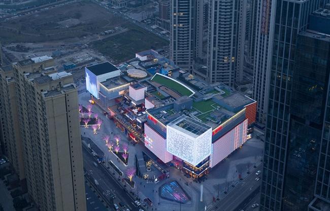 UNIFUN Tianfu Chengdu, China by CLOU