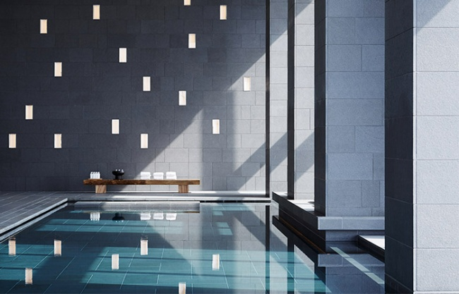Aman Tokyo by Kerry Hill Architects
