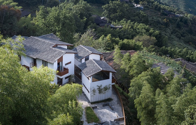 B&B in Ginkgo Village, China by RESP Studio
