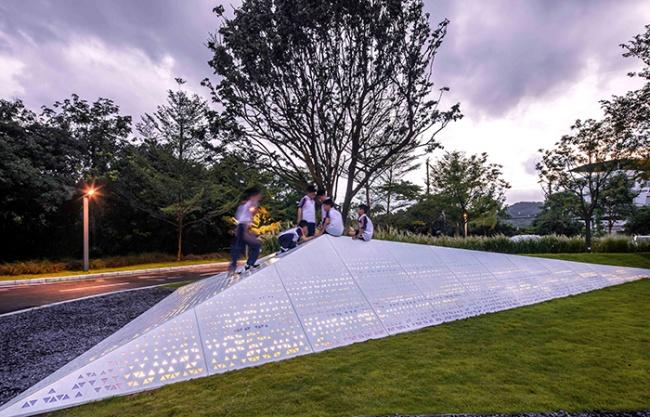 广州黄登社区旧改签约中心景观设计 / UPON莆上设计事务所