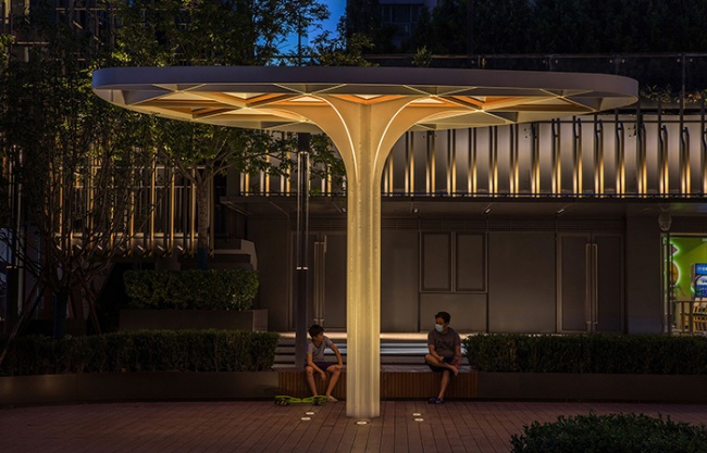 Lighting Heals Urban Space – Lighting Design of Beijing CR Land·Instreet, China by PROL