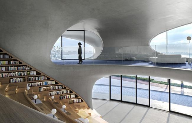 "MAD设计的""海口云洞图书馆""建成开幕"