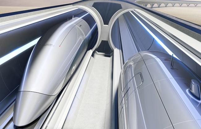 "Zaha Hadid Architects与Hyperloop Italia联手打造""超级高铁"""
