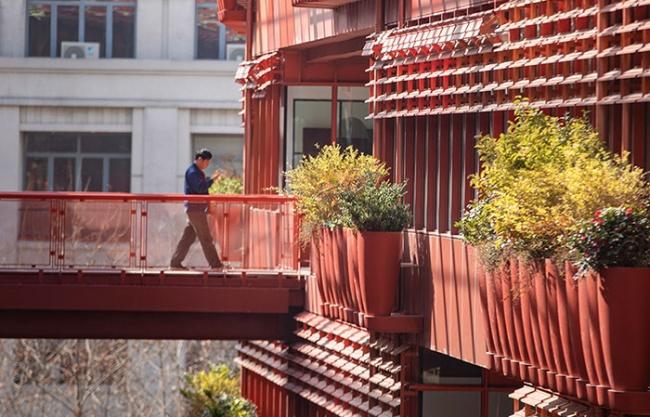 """The Roof""景观和生态立面设计,上海 / ASPECT Studios"