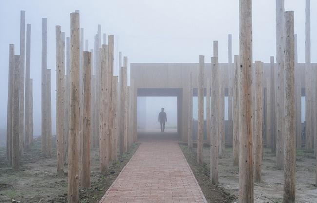 树林里的图书室,上海 / 空间里