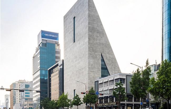 ST国际总部和SongEun艺术空间,首尔 / Herzog & de Meuron