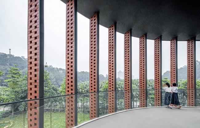 五邑大学学生服务中心,广东 / 华南理工大学建筑设计研究院有限公司