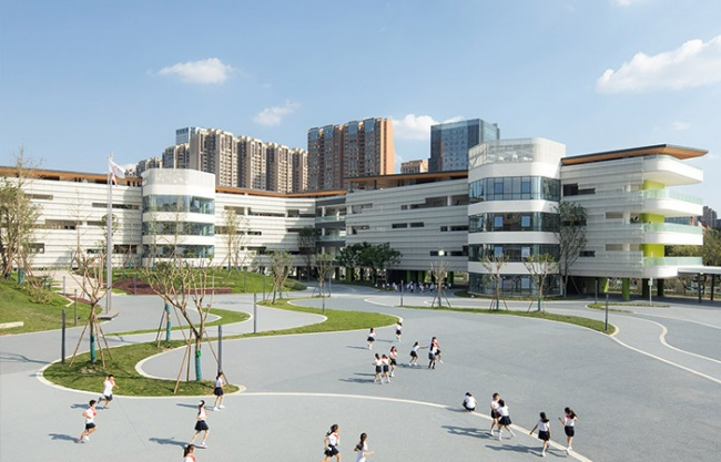 Chengdu Montpellier Primary School Extension Design, China by CSWADI